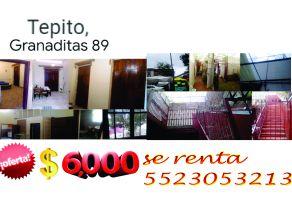 Foto de departamento en renta en Morelos, Cuauhtémoc, DF / CDMX, 21921693,  no 01