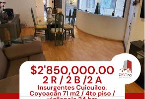 Foto de departamento en venta en Insurgentes Cuicuilco, Coyoacán, DF / CDMX, 17003361,  no 01
