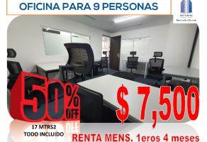 Foto de oficina en renta en Tabacalera, Cuauhtémoc, DF / CDMX, 15960451,  no 01