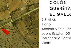 Foto de terreno industrial en venta en Ajuchitlán, Colón, Querétaro, 18834073,  no 01