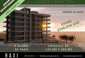 Foto de departamento en venta en Cruz de Huanacaxtle, Bahía de Banderas, Nayarit, 17147247,  no 01