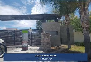 Foto de terreno habitacional en venta en 1 1, cañadas del lago, corregidora, querétaro, 0 No. 01