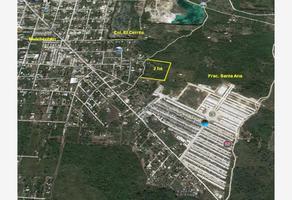Foto de terreno habitacional en venta en 1 1, kanasin, kanasín, yucatán, 11635948 No. 01