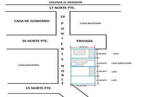 Foto de terreno habitacional en venta en 10 norte poniente , el mirador, tuxtla gutiérrez, chiapas, 19219888 No. 01