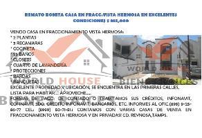 Foto de casa en venta en 10 , vista hermosa, reynosa, tamaulipas, 0 No. 01