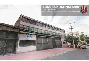 Foto de bodega en renta en Transito, Cuauhtémoc, DF / CDMX, 16328576,  no 01