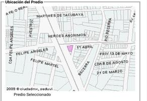 Foto de terreno habitacional en venta en 11 de abril 35, 8 de agosto, benito juárez, df / cdmx, 18970041 No. 01
