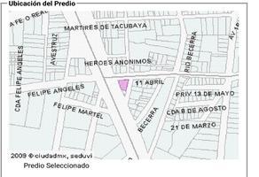 Foto de terreno habitacional en venta en 11 de abril 35, 8 de agosto, benito juárez, df / cdmx, 0 No. 01