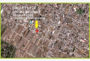 Foto de terreno habitacional en venta en 15 poniente , san andrés cholula, san andrés cholula, puebla, 5902765 No. 01