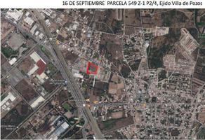 Foto de terreno habitacional en venta en 16 de septiembre , villas de jacarandas, san luis potosí, san luis potosí, 17591565 No. 01