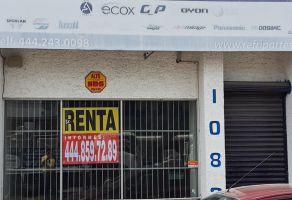 Foto de local en renta en Tangamanga, San Luis Potosí, San Luis Potosí, 21778973,  no 01