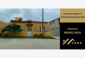 Foto de casa en venta en 18 de marzo , puerto méxico, coatzacoalcos, veracruz de ignacio de la llave, 0 No. 01