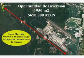 Foto de terreno habitacional en venta en 180 1, cancún (internacional de cancún), benito juárez, quintana roo, 0 No. 01