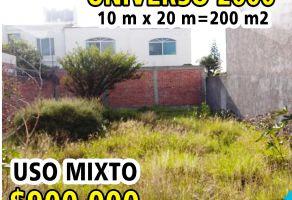 Foto de terreno habitacional en venta en Universo 200, Querétaro, Querétaro, 16829220,  no 01