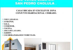 Foto de casa en venta en Zerezotla, San Pedro Cholula, Puebla, 22466420,  no 01