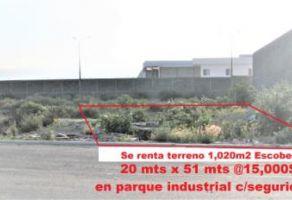 Foto de terreno industrial en renta en Gral. Escobedo Centro, General Escobedo, Nuevo León, 5336224,  no 01