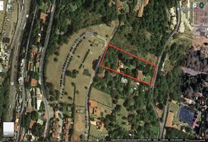 Foto de terreno habitacional en venta en 1ra. cerrada de arteaga y salazar , contadero, cuajimalpa de morelos, df / cdmx, 10438699 No. 01
