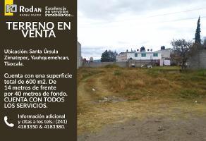 Foto de terreno industrial en venta en 20 de noviembre entre, calle 5 de mayo y 16 de septiembre , santa úrsula zimatepec, yauhquemehcan, tlaxcala, 0 No. 01