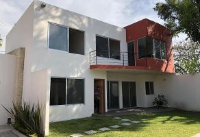 Foto de casa en venta en 20 noviembre 10, atlacomulco, jiutepec, morelos, 7309091 No. 01