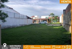 Foto de terreno habitacional en venta en 20 poniente 319, santiago mixquitla, san pedro cholula, puebla, 0 No. 01