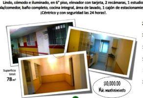 Foto de departamento en renta en Carola, Álvaro Obregón, DF / CDMX, 15736433,  no 01