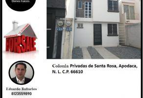 Foto de casa en venta en Privadas de Santa Rosa, Apodaca, Nuevo León, 22078282,  no 01