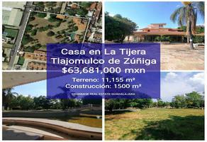 Foto de terreno habitacional en venta en 24 de diciembre 116, hacienda la tijera, tlajomulco de zúñiga, jalisco, 0 No. 01