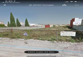 Foto de terreno habitacional en venta en 24 norte , morillotla, san andrés cholula, puebla, 0 No. 01