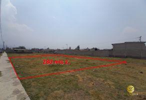 Foto de terreno habitacional en venta en San Lorenzo Chimalpa, Chalco, México, 21938913,  no 01
