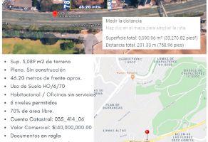 Foto de terreno habitacional en venta en Bosque de Chapultepec II Sección, Miguel Hidalgo, DF / CDMX, 13746598,  no 01