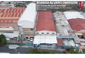 Foto de bodega en renta en Lomas de Santo Domingo, Álvaro Obregón, DF / CDMX, 16324555,  no 01