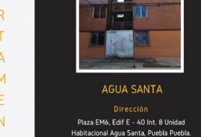 Foto de departamento en venta en INFONAVIT Agua Santa, Puebla, Puebla, 18680733,  no 01