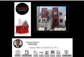 Foto de casa en venta en Villas del Alcali, García, Nuevo León, 21779198,  no 01