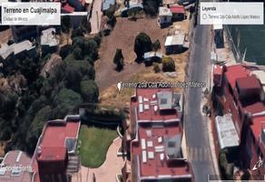 Foto de terreno habitacional en venta en 2da cerrada adolfo lópez mateos , adolfo lópez mateos, cuajimalpa de morelos, df / cdmx, 16528694 No. 01