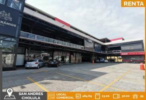 Foto de local en renta en 3 norte y 14 poniente , centro, san andrés cholula, puebla, 0 No. 01