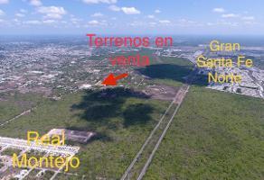 Foto de terreno habitacional en venta en 31 a , gran santa fe, mérida, yucatán, 0 No. 01