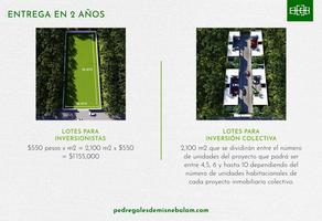 Foto de terreno habitacional en venta en 31 , san antonio xluch ii, mérida, yucatán, 17576323 No. 01