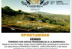 Foto de terreno habitacional en venta en San Gaspar, Tonalá, Jalisco, 6397646,  no 01