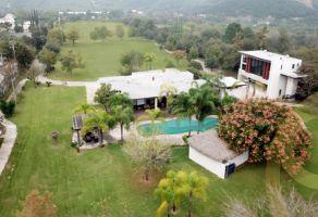 Foto de terreno habitacional en venta en El Barrial, Santiago, Nuevo León, 13736339,  no 01