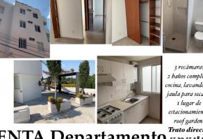 Foto de departamento en venta en Tizapan, Álvaro Obregón, DF / CDMX, 14812443,  no 01