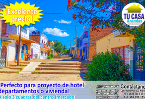 Foto de terreno habitacional en venta en Arandas Centro, Arandas, Jalisco, 15149268,  no 01
