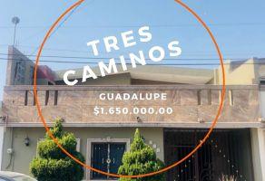 Foto de casa en venta en 3 Caminos, Guadalupe, Nuevo León, 21333348,  no 01
