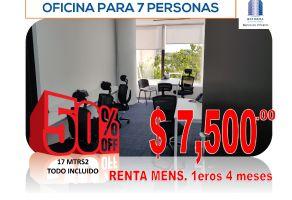 Foto de oficina en renta en Tabacalera, Cuauhtémoc, DF / CDMX, 17134508,  no 01