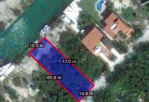 Foto de terreno habitacional en venta en Supermanzana 24, Benito Juárez, Quintana Roo, 16750384,  no 01
