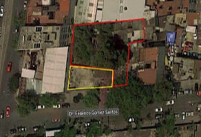 Foto de terreno habitacional en venta en Doctores, Cuauhtémoc, DF / CDMX, 20628680,  no 01