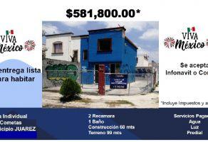Foto de casa en venta en Los Cometas, Juárez, Nuevo León, 22113478,  no 01