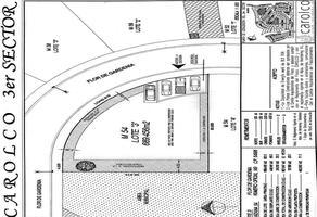 Foto de terreno habitacional en venta en 3er sector , carolco, monterrey, nuevo león, 0 No. 01