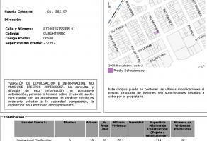 Foto de terreno habitacional en venta en Cuauhtémoc, Cuauhtémoc, Distrito Federal, 6011244,  no 01
