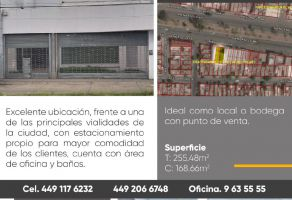 Foto de bodega en venta en Villas del Pilar 1a Sección, Aguascalientes, Aguascalientes, 22464773,  no 01