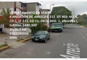 Foto de departamento en venta en 4 andador de arrecife 211 403, san andrés jaltenco, jaltenco, méxico, 0 No. 01